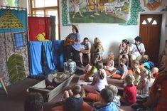 Školní výlet v zábavním parku Fábula