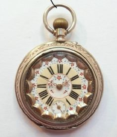 19 Th c SILVER DOUBLE COVER POCKET WATCHES