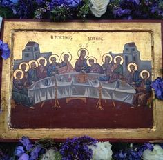Rye, NY, The Greek Orthodox Church of Our Savior, Icon of the Last Supper