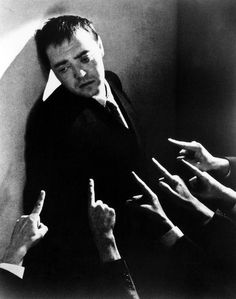 Peter Lorre in Crime and Punishment - it's my thesis that vintage movie characters in extremis have the hairstyles of today