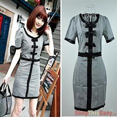 Corporate Elegant Buttoned Dress for only Php519.00     http://www.shopthiseasy.com/shops/corporate-elegant-buttoned-dress-c2a91.html