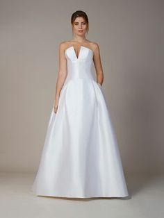 20e87c910dd Liancarlo Fall 2018 wedding dresses v-neckline Elegant Wedding Dress