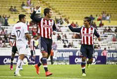 CHIVAS IGUALÓ CON EL VERACRUZ 1-1 EN PARTIDO AMISTO || Chivas empata a un gol ante el Veracruz. Carlos Bustos dispuso de un 4-3-3 en el campo del Jalisco ante los Tiburones Rojos, con la inclusión de Arce, Toledo y Ángel Reyna en el 11 titular.