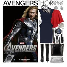 [Outfits inspired by The Avengers] AVENGERS Ensemble   Thor, created by leighanned on Polyvore