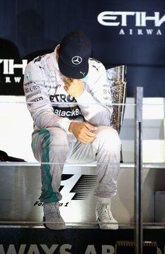 On the Podium at the 2014 Etihad Airways Abu Dhabi Grand Prix Abu Dhabi Grand Prix, Watch F1, Nico Rosberg, Martini Racing, F1 Season, Fastest Man, Red Bull Racing, F1 Drivers, Lewis Hamilton