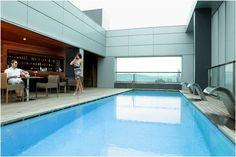 Hotel diagonal Barcelona Zero pool