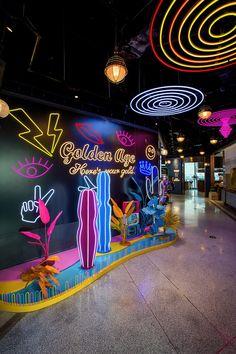 Retail Interior, Restaurant Interior Design, Window Display Design, Wall Design, Stage Design, Event Design, Led Neon, Exhibition Booth Design, Photo Corners