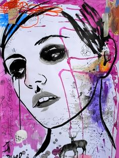 Saatchi Online Artist Loui Jover; Mixed Media, labyrinth #art