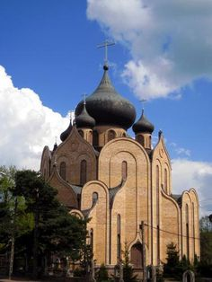 Eglise orthodoxe du Saint-esprit à  Bialystock    (Pologne)