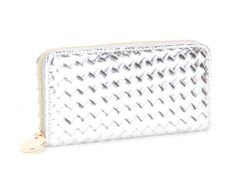 Deux Lux Sunset Wallet in silver