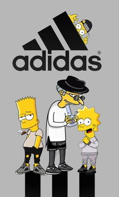 Adidas Oh those Russian science labs Simpson Wallpaper Iphone, Hype Wallpaper, Cartoon Wallpaper, Wallpaper Backgrounds, Iphone Wallpaper, Bart Simpson Tumblr, Dragonball Anime, Rauch Fotografie, Simpsons Art