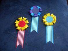 How to make an award ribbon pin
