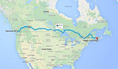 Tips for planning a cross-Canada road trip - travel Road Trip Essentials, Road Trip Hacks, Places To Travel, Travel Destinations, Places To Go, Cross Canada Road Trip, Canada Trip, Bay Canada, Canadian Travel
