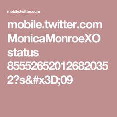 mobile.twitter.com MonicaMonroeXO status 855526520126820352?s=09
