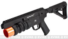 "Madbull Spike Tactical Havoc 9"" Stand Alone Airsoft Grenade Launcher, Airsoft Guns, Grenade Launchers - Evike.com Airsoft Superstore"