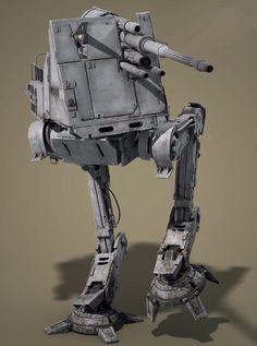 All Terrain Defense Turret Star Wars Clones, Rpg Star Wars, Nave Star Wars, Star Wars Ships, Star Wars Clone Wars, Images Star Wars, Star Wars Characters Pictures, Star Citizen, Chasseur De Primes