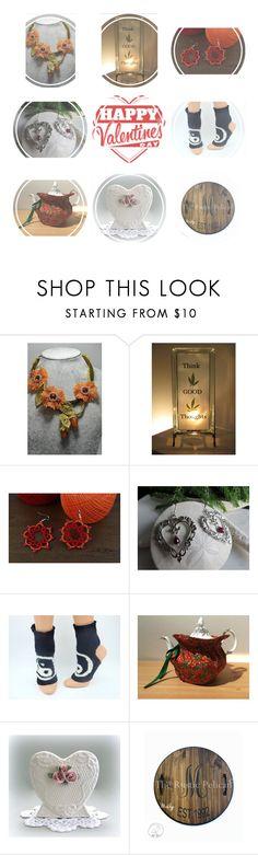 """Give a Handmade Valentine"" by glowblocks ❤ liked on Polyvore"
