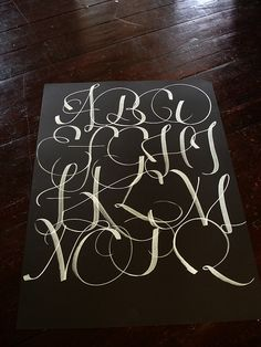 #calligraphy - This makes me want to get back into Calligraphy.