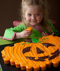 Pumpkin Patch Pull Apart cupcakes cake...