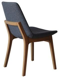 Eiffel Wood Chair by sohoConcept - Here's a view of the stylish curved back on the Eiffel Wood Chair. It's perfection in a modern wood chair design. Wood Chair Design, Wood Design, Furniture Design, Contemporary Dining Chairs, Modern Chairs, Kitchen Chairs, Dining Room Chairs, Ikea Chairs, Office Chairs
