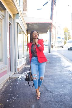 Likes, 40 Comments - Priscilla Cute Work Outfits, Classy Outfits, Chic Outfits, Fashion Outfits, Womens Fashion, Fashion Ideas, Denim Outfits, Outfit Work, Amazing Outfits