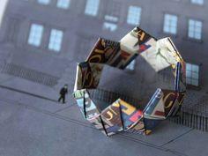 Braccialetto origami by Paola Baggio