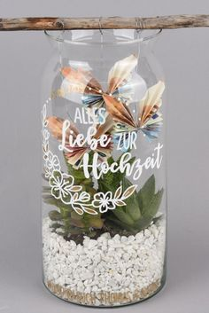 Three beautiful DIY money gifts for the wedding Diy gifts, Wedding decoratio . - Three beautiful DIY money gifts for the wedding Diy gifts, wedding decorations, wedding gifts - Don D'argent, Diy Wedding Gifts, Wedding Crafts, Wedding Favors, Engagement Ring Cuts, Jar Gifts, Stampin Up, Diy And Crafts, Wedding Decorations