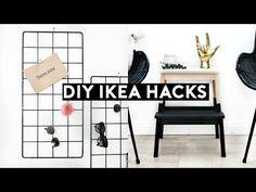 (24) DIY IKEA HACKS   DIY MINIMAL ROOM DECOR! SIMPLE & CHEAP - YouTube