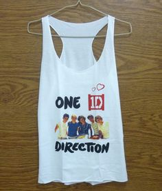One Direction Tank top size XS 1D shirt Teen girls by StoneTshirts, $12.50