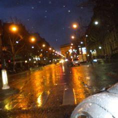 Rainy Paris!