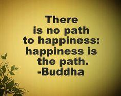 Enjoy the ride  #buddha #happiness #wordsofwisdom