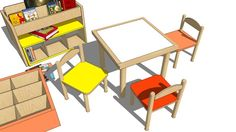 TABLE, BABY - 3D Warehouse