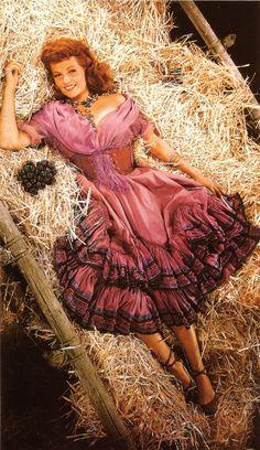 Roll, roll . . . roll, roll  (Margarita Carmen Cansino)