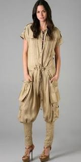 It's managed to take stupid-looking to a whole new level. Matthew Williamson jumpsuit, $1,202