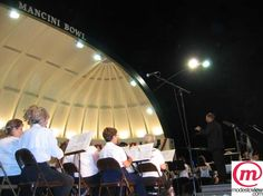 Concert in the Park. Moband performs a total of six shows every summer!