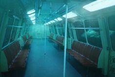 The Bucharest Metro underwater:))