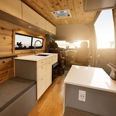 """What do you guys think of this new van we just built!? It's a 2015 144"""" wheelbase @mercedesbenz sprinter! Thank you @rican_sprinter_van for letting us build her! Hope you're ready for full time van-life! #BuildYourOwnAdventure Photo: @christian_adam_"""