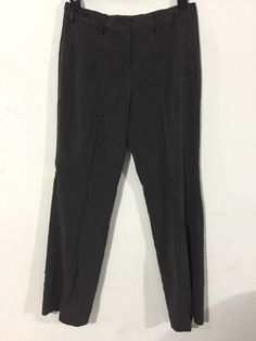 "The Limited Women's Cassidy Fit Flat Front Gray Pants Size 8 Inseam 31"" inch #TheLimited #CassidyFit"