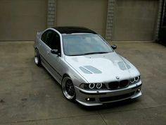 BMW E46 3 series cabrio silver