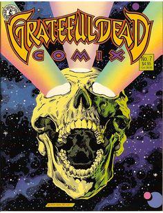 Grateful Dead Comix No 7 Grateful Dead Skull, Grateful Dead Poster, Movies For Sale, Good Movies, Rock Posters, Concert Posters, Grateful Dead Wallpaper, Conditioner, Vintage Music