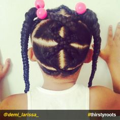 Easy toddler hairstyle biracial hair toddler hair natural hair