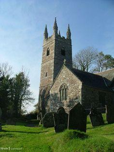 Poundstock church, Cornwall