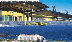 Kokkolasta La Palman saarelle Desktop Screenshot, Palms