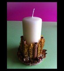 Πασχαλινό Χειροποίητο κερί HM 41 www.bythebook.gr Pillar Candles, Candles