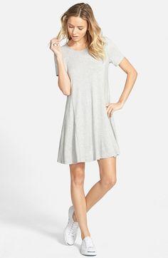 Lush Paneled Shift Dress