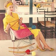 Knitting why not, Eames