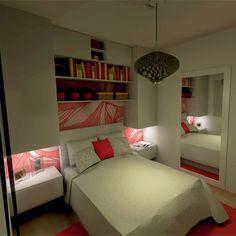 Decoração para quarto pequeno