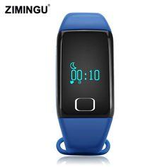ZIMINGU 2017 T1 Smart Bracelet Band Bluetooth Activity Wristband Intelligent Sports Watch Step Sleep Track Heart Rate Monitor