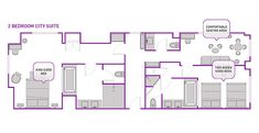 Cosmo City Suite Mit 2 Schlafzimmern Cosmo 2 Schlafzimmer City Suite sicherlich nicht gehen aus Modellen. Cosmo-2 Schlafzimmer City Suite...