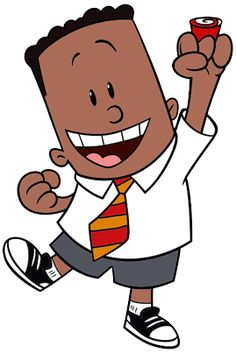 """George Beard from """"The Amazing Captain Underpants Movie"""" Cartoon Icons, Cartoon Tv, Dog Man Book, Captain Underpants, Library Activities, Embroidery On Clothes, Book Week, Exhibitions, Graphic Illustration"""